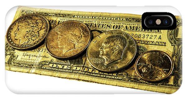 Shrinking Dollars IPhone Case