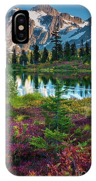 Deciduous iPhone Case - Shuksan Autumn by Inge Johnsson