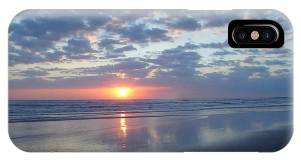 Shy Sunrise IPhone Case