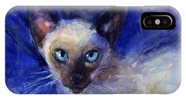 Siamese Cat  IPhone Case