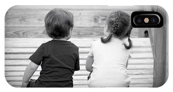Siblings Phone Case by Laurinda Bowling