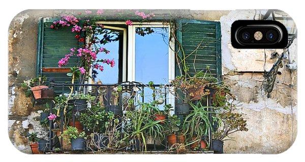 Sicilian Balcony IPhone Case