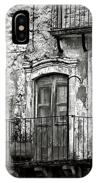 Sicilian Medieval Facade IPhone Case