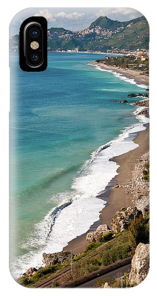 Sicilian Sea Sound IPhone Case