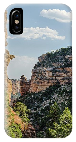 Side Canyon View IPhone Case