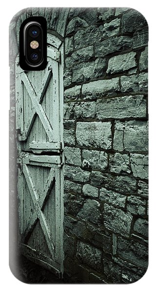 Timeworn iPhone Case - Side Door by Joseph Skompski