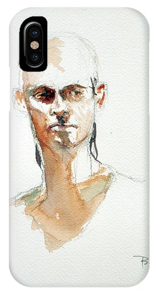 Side Glance IPhone Case