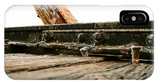 Side Of Rail #photography #trains IPhone Case