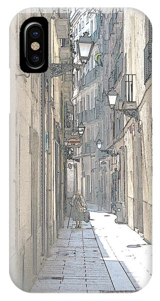 Side Street IPhone Case