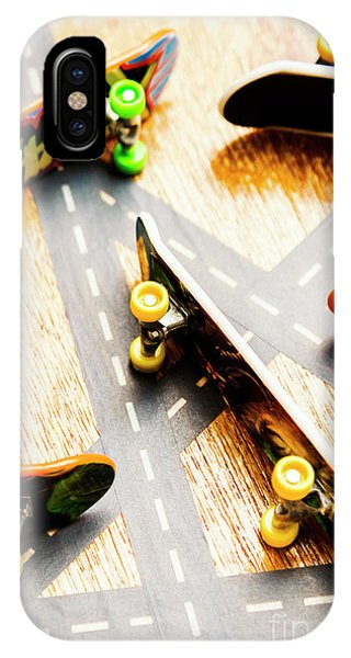 Truck iPhone Case - Side Streets Of Skate by Jorgo Photography - Wall Art Gallery