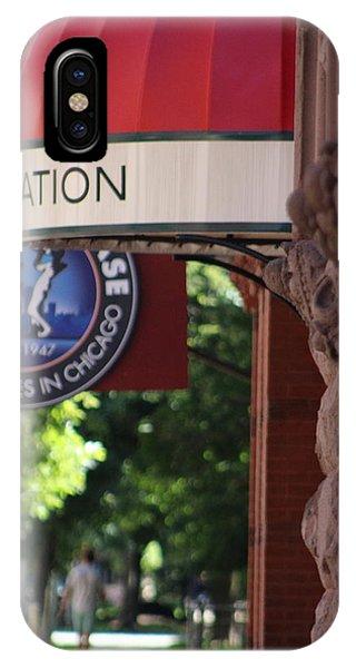 Sidewalk View Jazz Station  IPhone Case