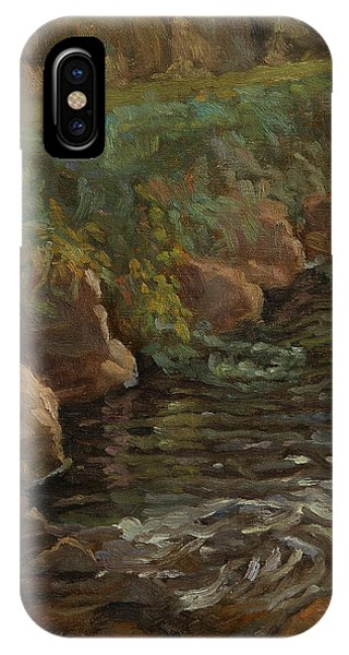 Sidie Hollow IPhone Case