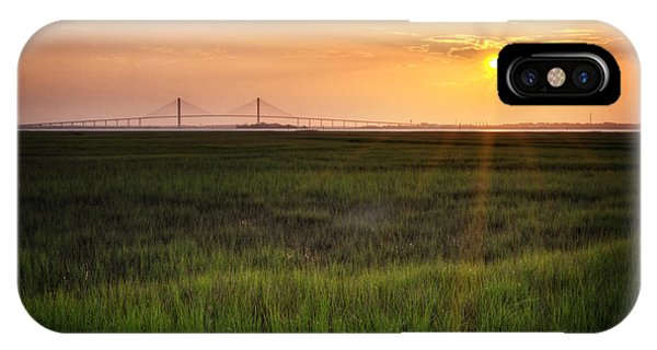 IPhone Case featuring the photograph Sidney Lanier At Sunset by Greg Mimbs