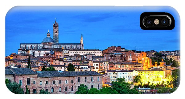 IPhone Case featuring the photograph Siena by Fabrizio Troiani