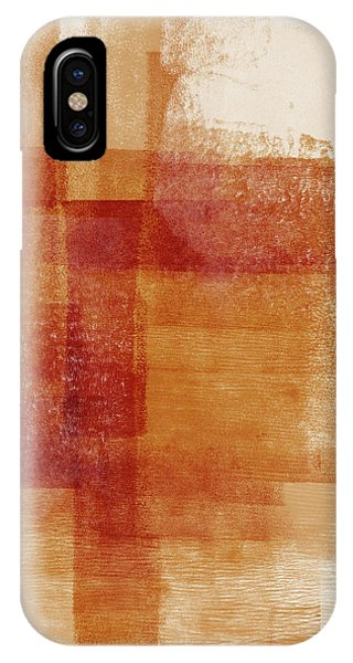 Earthy iPhone Case - Sienna 2- Abstract Art By Linda Woods by Linda Woods