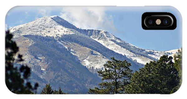 Sierra Blanca Clouds 4 IPhone Case