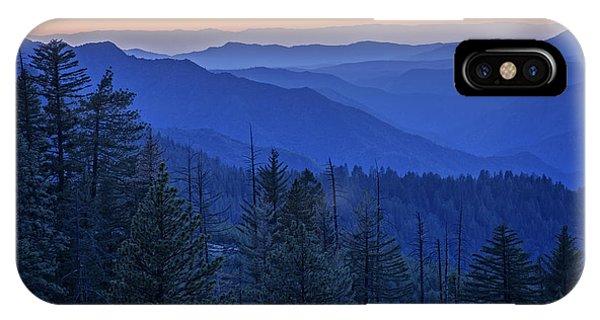 Sierra Nevada iPhone Case - Sierra Fire by Rick Berk