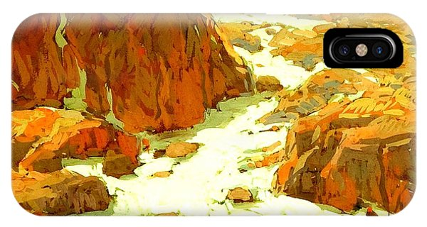 Sierra Landscape Circa 1920 IPhone Case
