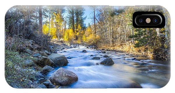 Sierra Mountain Stream IPhone Case