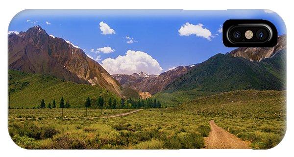 Sierra Mountains - Mammoth Lakes, California IPhone Case