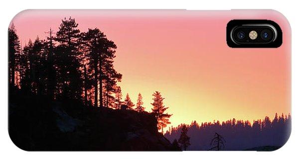 Sierra Nevada Dusk IPhone Case