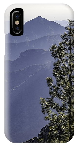 Sierra Nevada Foothills IPhone Case