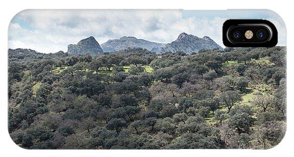 Sierra Ronda, Andalucia Spain IPhone Case