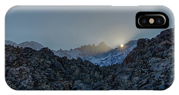 Sierra Sun Burst IPhone Case