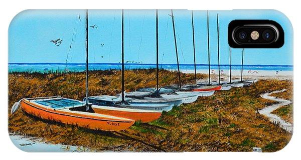 Siesta Key Access #8 Catamarans IPhone Case