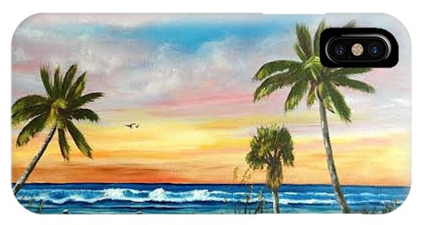 Siesta Key At Sunset IPhone Case