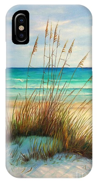 Sea iPhone X Case - Siesta Key Beach Dunes  by Gabriela Valencia