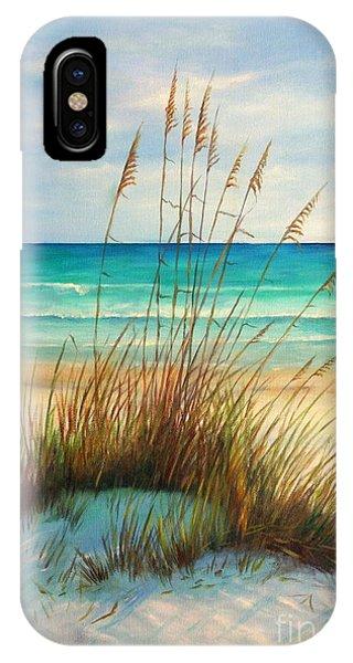 Seascape iPhone Case - Siesta Key Beach Dunes  by Gabriela Valencia