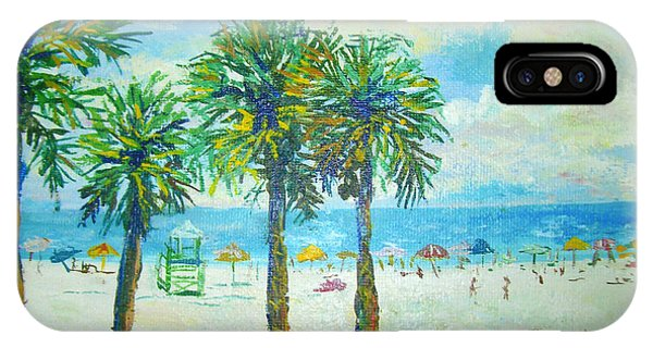 Siesta Key Beach IPhone Case
