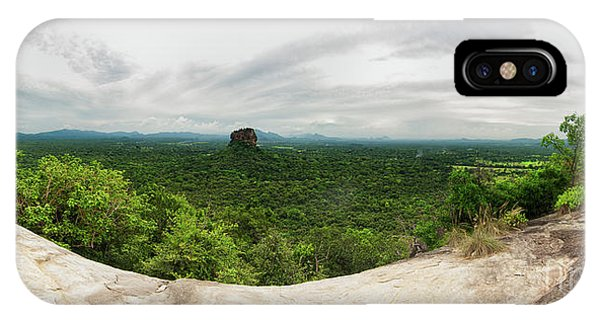 Sigiriya Panorama IPhone Case