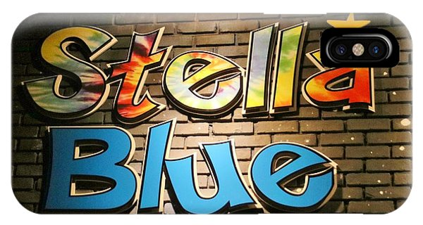 Sign Of Stella Blue IPhone Case
