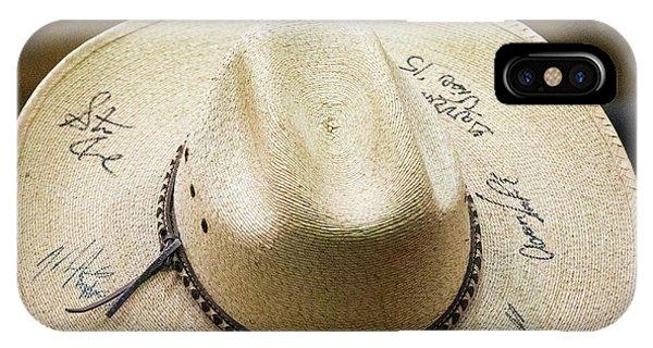 Signature Hat IPhone Case