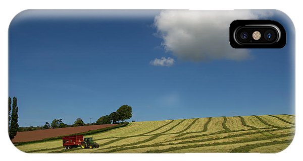 Silage Making  IPhone Case