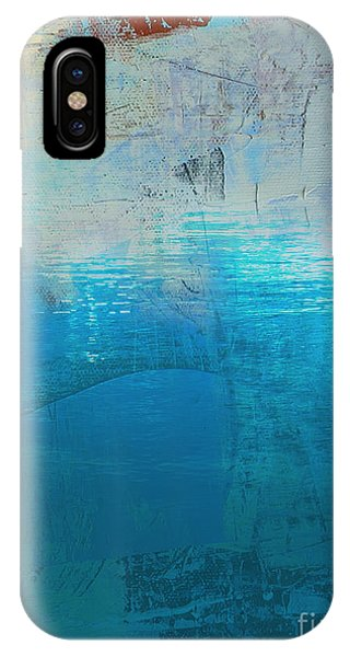 IPhone Case featuring the painting Silence 1  by Diane Desrochers