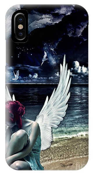 Silence Of An Angel IPhone Case