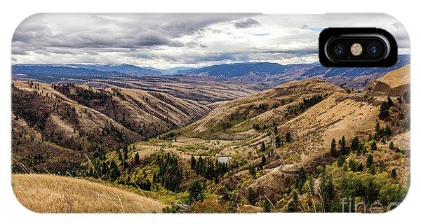 Silence Of Whitebird Canyon Idaho Journey Landscape Photography By Kaylyn Franks  IPhone Case