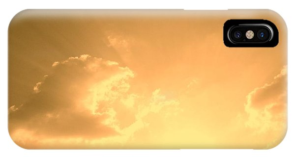 iPhone X Case - Silence by Orphelia Aristal