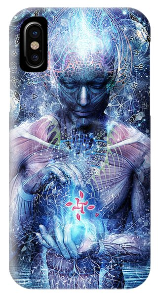 Fantasy Art iPhone Case - Silence Seekers by Cameron Gray