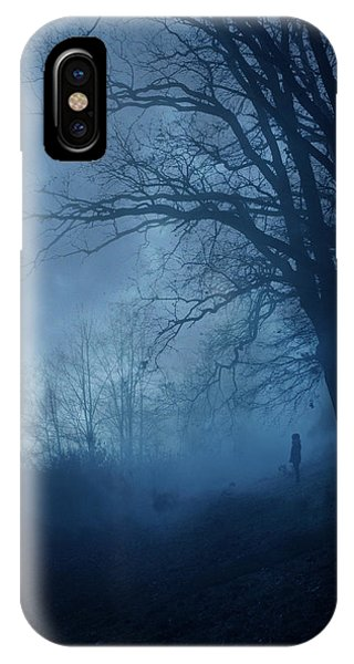 Wintry iPhone Case - Silence by Cambion Art