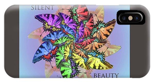 Silent Beauty IPhone Case
