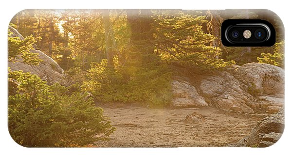 Rocky Mountain Np iPhone Case - Silent Beauty by Kunal Mehra