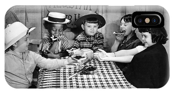 Silent Film: Little Rascals IPhone Case