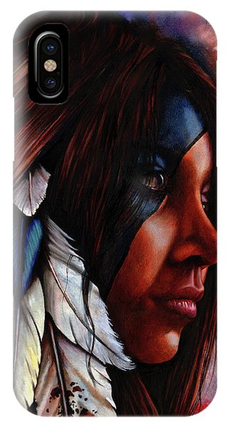 Silent Grace IPhone Case