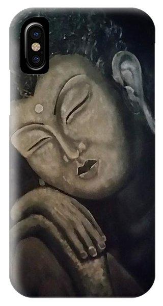 Silent Meditations IPhone Case