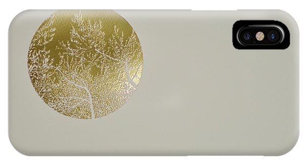 Meditative iPhone Case - Silent Olive by Angus Hampel