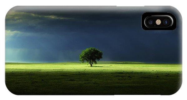 Silent Solitude IPhone Case